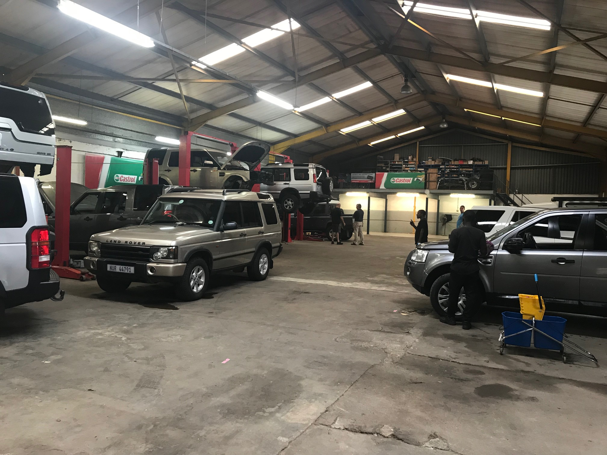 durban land rover servicing