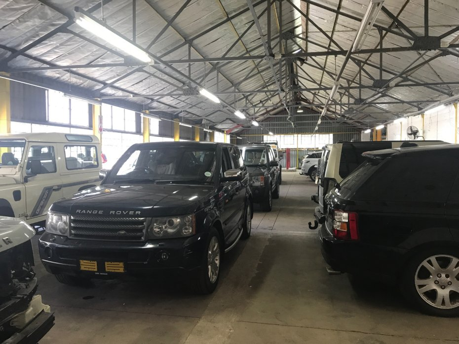 serviced land rovers