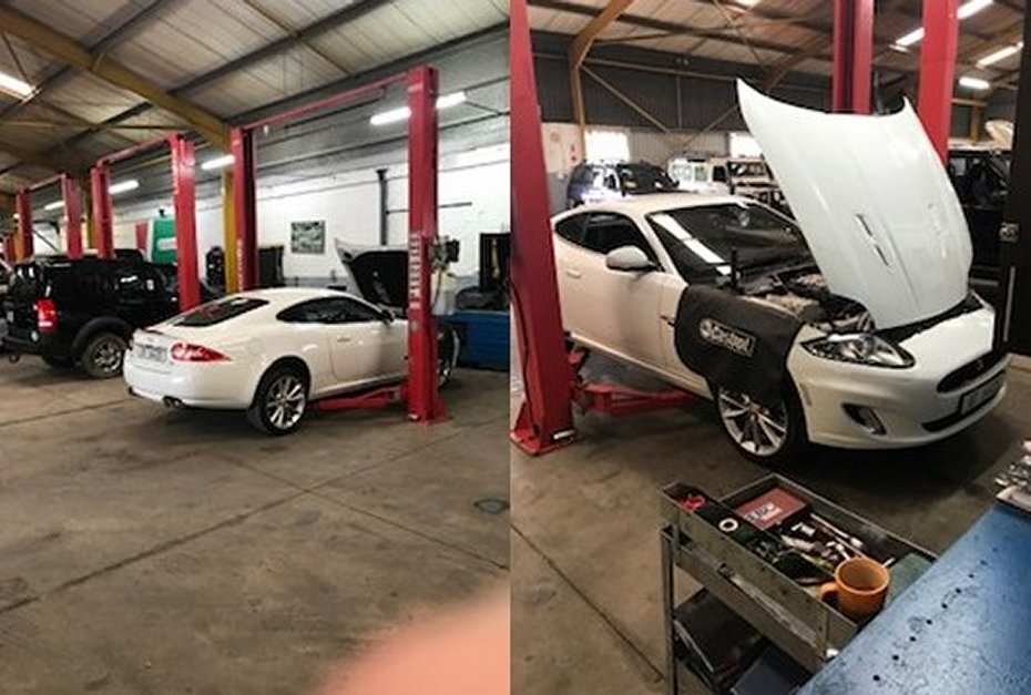 durban jaguar servicing