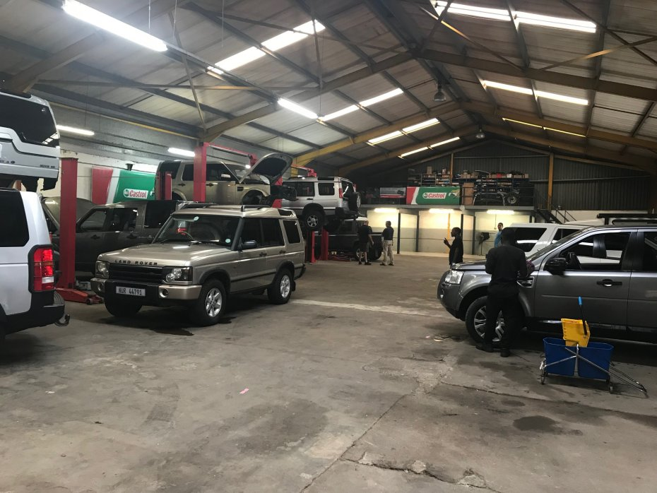 epair workshop durban land rover