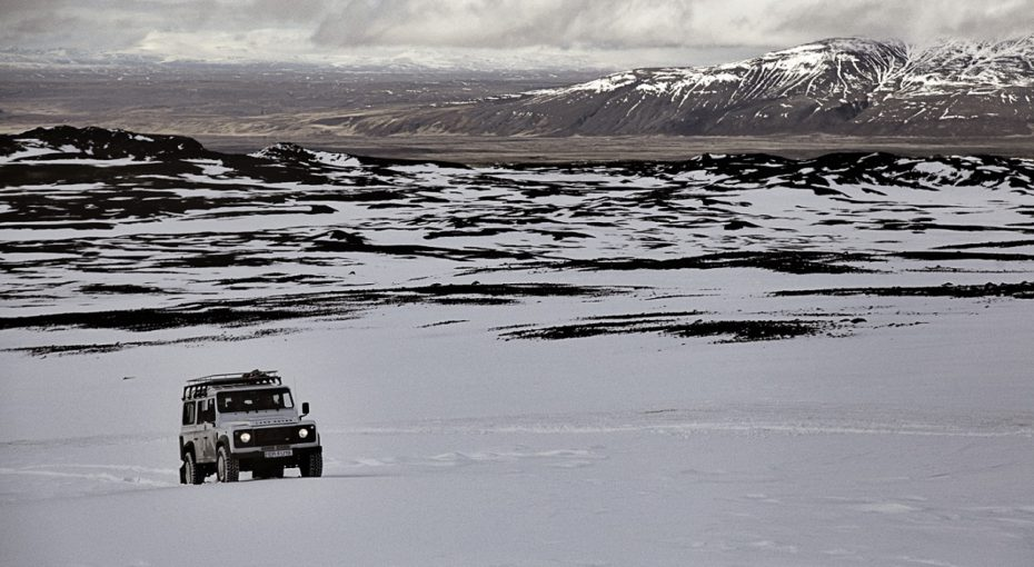 wintery drive